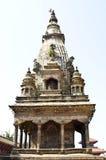 Grand dos durbar de Patan, bhaktapur, Népal photographie stock libre de droits