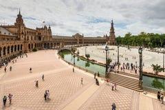 Grand dos espagnol en Séville, Espagne Image libre de droits