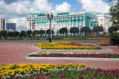 Grand dos historique de zone. Ekaterinburg, Russie. Image libre de droits