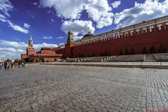 Grand dos rouge moscou Photographie stock