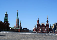 Grand dos rouge, Moscou Photographie stock