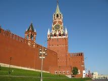 Grand dos rouge Moscou Images libres de droits