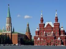Grand dos rouge, Moscou, Russie Images libres de droits