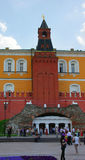 Grand dos rouge, Moscou, Russie image stock
