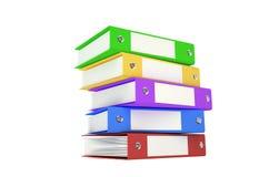 Grand dossier coloré Images stock