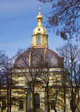 Grand Ducal Burial Vault. In the Peter and Paul Fortress Stock Images