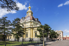 Grand-Ducal burial vault at the Peter and Paul fortress, Saint Petersburg Stock Images
