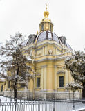 Grand Ducal Burial Vault in the winter. Stock Image