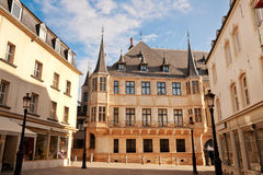 Grand Ducal Palace. In sunny morning, Luxembourg city stock photos