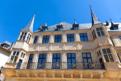 The Grand Ducal Palace, Luxembourg. The façade of the Grand Ducal Palace in Luxembourg City Stock Images