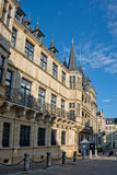 Grand ducal palace. In Luxembourg Royalty Free Stock Photos