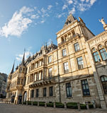 Grand ducal palace. In Luxembourg Royalty Free Stock Photography