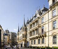 Grand Ducal Palace in Luxembourg city. The Grand Ducal Palace in Luxembourg city Stock Image