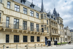 Grand Ducal Palace. In Luxembourg city Stock Image