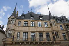 Grand Ducal Palace, Luxembourg City. Grand Ducal Palace located in Luxembourg City Royalty Free Stock Photos