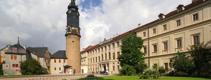 Grand-Ducal Palace of Weimar Stock Photo