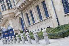 Palais Grand Ducal in Luxembourg. Grand Duchy of Luxembourg - Palais Grand Ducal Stock Photos