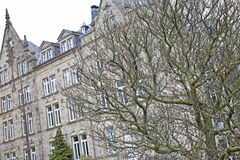 Luxembourg architecture Royalty Free Stock Photos