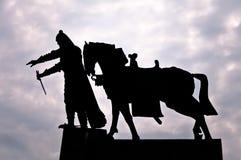 Grand Duke Gediminas Statue Royalty Free Stock Images