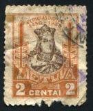 Grand Duke Vytautas. LITHUANIA - CIRCA 1930: stamp printed by Lithuania, shows Grand Duke Vytautas, circa 1930 Royalty Free Stock Photos