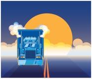 Grand emballage de camion Photos stock