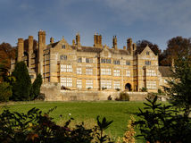 Grand English House. Stately Home in an English Rural setting Royalty Free Stock Image