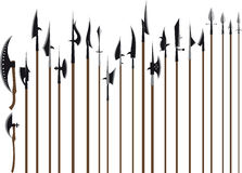 Grand ensemble d'arme. Partie deux Photographie stock