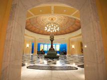 Grand Entrance. Grand lobby entrance hall to classic hotel Stock Photo