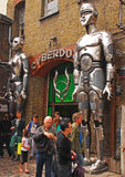 Grand Entrance of Cyberdog in Camden royalty free stock images