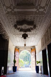 Grand entrance hall in Marrakesh Morocco Royalty Free Stock Photography