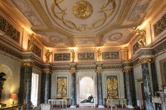The Grand Entrance Hall into Syon House Royalty Free Stock Photography