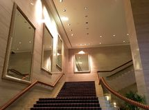 Grand entrance to ballroom or any other events Royalty Free Stock Photos