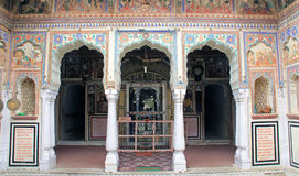 Grand entrance to a Haveli Stock Images
