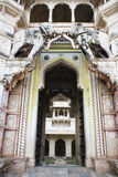 A grand entrance to an Indian Palace Stock Images