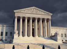Supreme Court Afternoon Stock Image