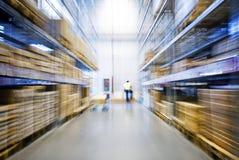 Grand entrepôt de meubles Photos libres de droits