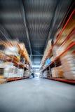 Grand entrepôt de hangar industriel et sociétés de logistique photographie stock