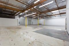 Grand entrepôt vide Images stock