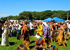 Grand Entry at Shinnecock POW WOW Stock Image