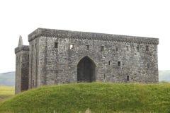 Grand et intense château médiéval d'ermitage Images libres de droits