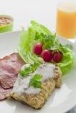 Grand et plein déjeuner Photographie stock libre de droits