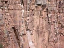 Grand Facade. Rock face at the Grand Canyon Stock Image