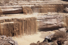 Grand Falls. On the Little Colorado River in Arizona Stock Photography