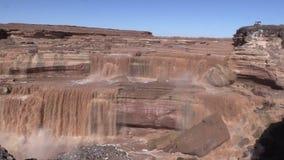 Grand Falls Arizona stock footage