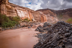Grand Falls Arizona Royalty Free Stock Images