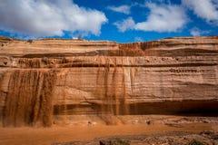 Grand Falls Arizona Royalty Free Stock Photography