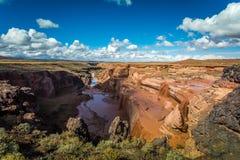 Grand Falls Arizona Stock Image