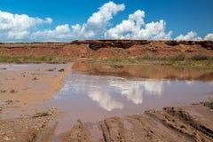 Grand Falls Arizona Stock Photography