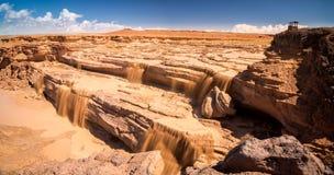 Grand Falls Arizona Stock Photo