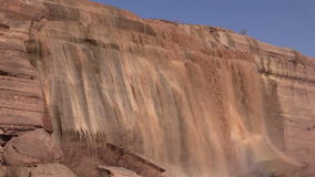 Grand Falls Arizona Close Up stock footage